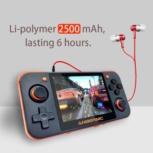 Image 2 - Plus récent RG 350 rétro console de jeux vidéo portable portatil mini console de jeu rétro 64bit opendingux 3.5 pouces IPS écran 2500 + jeux
