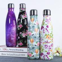 500ML Water Bottle Hydro Flask  Cola Thermos Insulated Vacuum Flask Stainless Steel Water Bottle for Sport Drinking Bottle bullet stainless steel hot water bottle high end gift cartoon thermos cup 500ml vacuum flask kettle