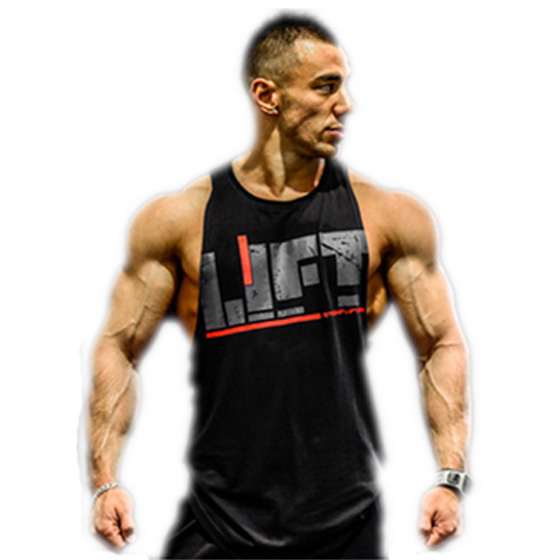 New Men Gym Singlet Tank Tops Loose Breathable Bodybuilding Tops For Summer SCI88
