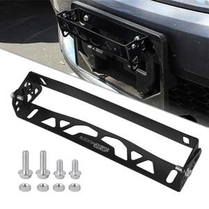 Image 5 - RASTP Universal Aluminium Auto Styling Kennzeichen Rahmen Einstellbare Racing Kennzeichen Rahmen Rahmen Tag Halter RS BTD012