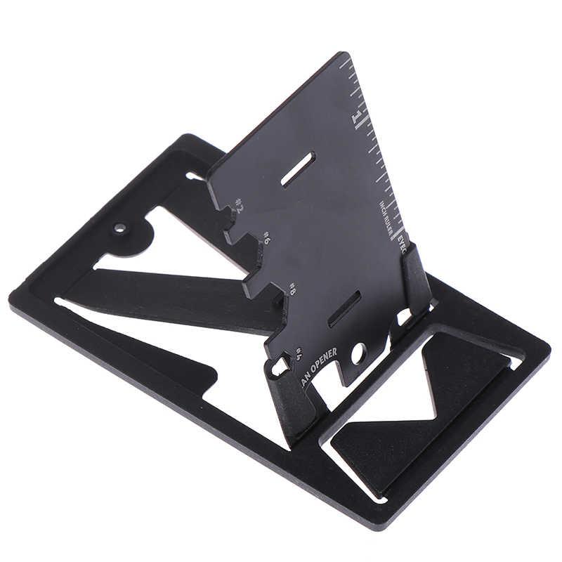 Foldable Pocket Card Multi-Tools Phone Stand Opener EDC Tighten Screws Tool Kits