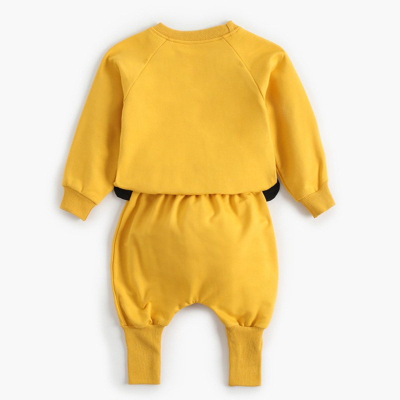 2021 New Newborn Baby Girls Clothes Autumn Baby Boys Clothes Set Kids Costume Infant Baby Clothing Suit Cotton Coat+Pants 2