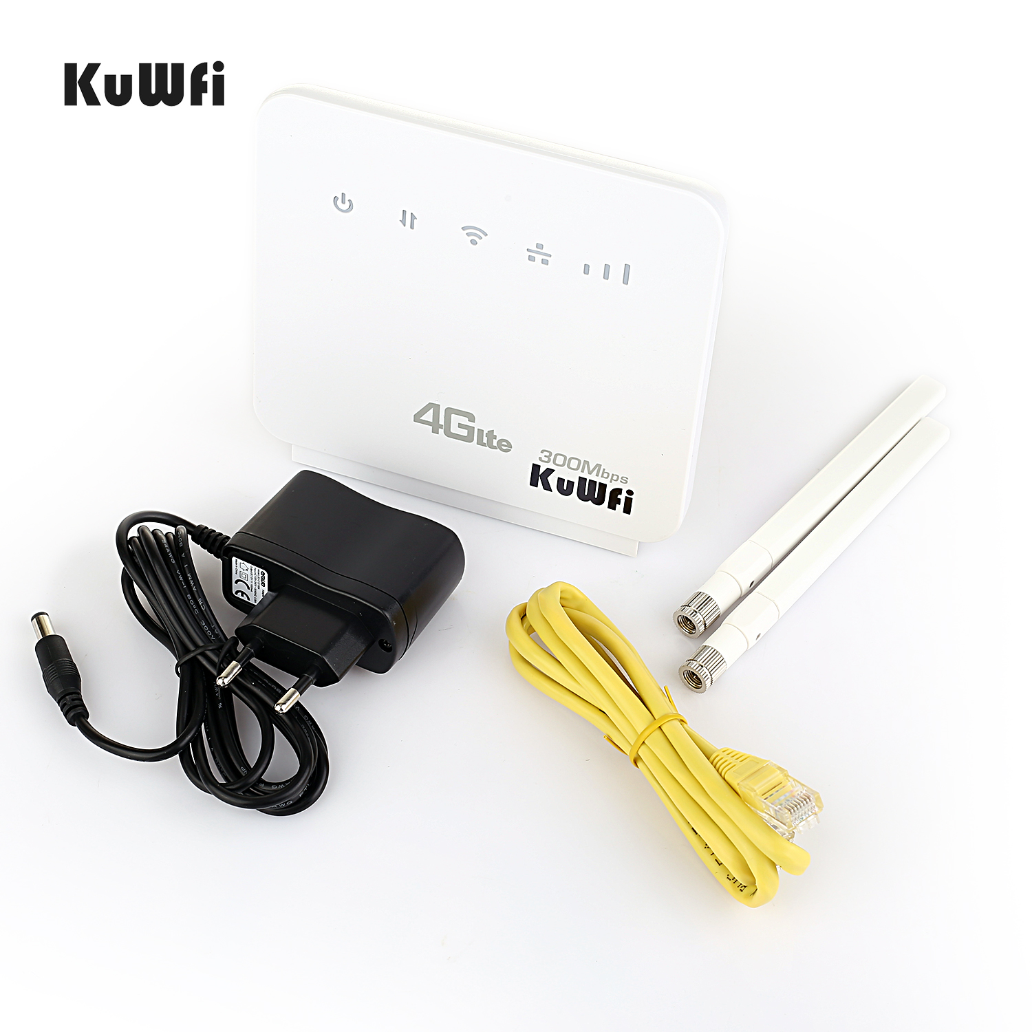 Unlocked 300Mbps Wifi Routers or 4G LTE CPE Mobile Router with LAN Port Support and SIM card 5