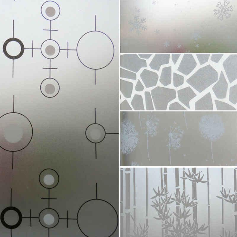 Neueste 2M * 45CM Matt Opaque Glas Fenster Film Für Fenster Privatsphäre Klebstoff Glas Aufkleber Wohnkultur Gemischt farbe Schlafzimmer