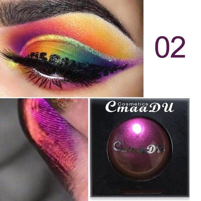 4-color eye shadow waterproof long-lasting light color eye shadow glitter eye makeup glitter eye shadow palette 3