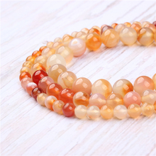 Candy Agate Natural Stone Beads For Jewelry Making Diy Bracelet Necklace 4/6/8/10/12 mm Wholesale Strand
