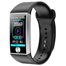 цена S28 Smartband Blood Pressure Smart Band Heart Rate Monitor PPG ECG Smart Bracelet Activity Fitness Tracker Electronics Wristband онлайн в 2017 году