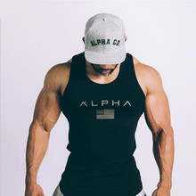 2019 Mens Tank Top Tees Summer Quick Dry Running Shirts Gym Fitness Undershirt Vest Men Sleeveless Muscle T Shirt