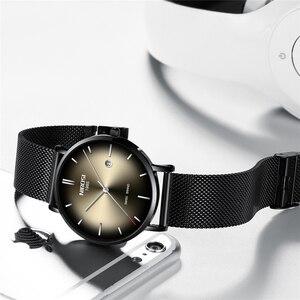 Image 2 - Relogio Masculino NIBOSI גברים שעונים פשוט אופנה למעלה מותג יוקרה Creative זכר שעון עמיד למים לא מוגדר מזדמן שעון גברים