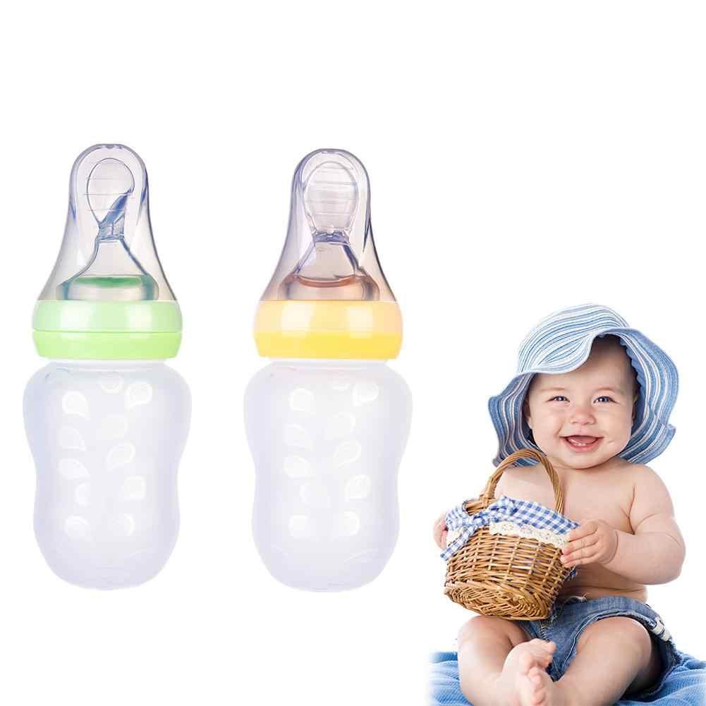 เด็กทารกบีบขวดนมการฝึกอบรมช้อนข้าวทารกแรกเกิดธัญพืชอาหารเสริม Feeder ปลอดภัยเครื่องมือบนโต๊ะอาหาร