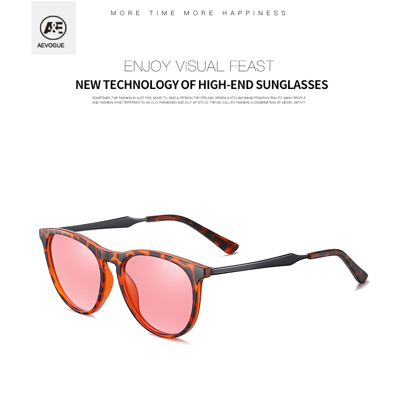Hfa1aa596955c4d9b8d41668a70346f5cr AEVOGUE New Women Polarized Korean Fashion Sunglasses Men Driving Retro Outdoor Glasses Brand Design UV400 AE0816