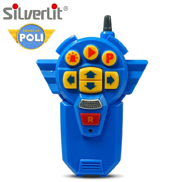 Genuine Product Silverlit Poli Perley Remote Control Multi-function Robot Walking Robot 83090