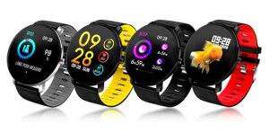 Image 5 - BINSSAW Full Touch Screen  IP68 Waterproof Multi function Sports Smart Bracelet Heart Rate Tracker Blood Pressure Smartwatch