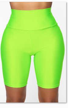 2019 moda damska wygodne szorty rozciągliwy Skinny Running kolarstwo spodenki sportowe kompresja Fitness Gym szorty do biegania