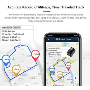 Image 4 - 改善されたGF 09ミニgpsトラッカーアプリ制御盗難防止装置ロケータ磁気声レコーダー車/車/人場所