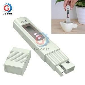 TDS-3 digital tds medidor de ph caneta aquário piscina qualidade de água teste caneta filtro de pureza de água monitor preciso medidor temp tds