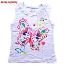 Jumpingbaby 2021 T-shirt enfants Vêtements Filles T-shirt D'été Hauts Colete T-Shirts T-shirt Bébé Fille koszulka Vetement Enfant Fille