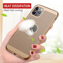 Ultra Thin Heat Dissipation Case On For iphone X Xs Max Xr Hard PC Full Cover For iphone 11 7 8 6 6s Plus Matte Protective Case oppselve breath case for iphone x 7 6 6 s plus luxury ultra thin slim hard pc cover case for iphone x ix coque fundas capinhas