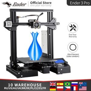 Ender-3 Pro 3D Stampante KIT FAI DA TE Upgrad Cmagnet Costruire Piatto Ender-3Pro Riprendere Mancanza di Alimentazione Stampa Mean Well Potere Creality 3D(China)