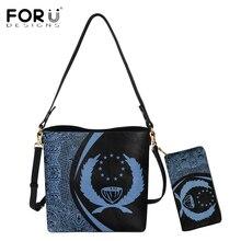 Messenger Bags Polynesian FORUDESIGNS Printing Shoulder Female Casual Women New-Fashion