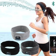 VTIN Bluetooth Music Headband Wireless Headphone Head Band Stereo Sleep Sports Headwear Headset Unisex Hoop with Mic
