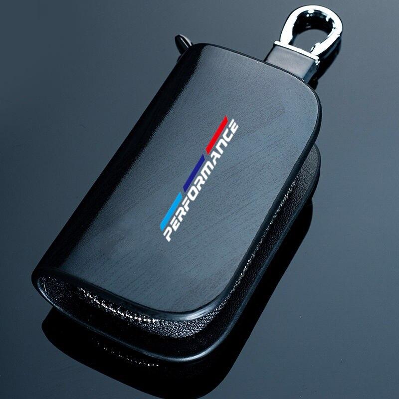 Genuine leather car key case wallet fashion cow leather brand car key holder For BMW E46 E39 E90 E91 E60 E36 E92 E30 E34 E70 E87|Key Case for Car| - AliExpress