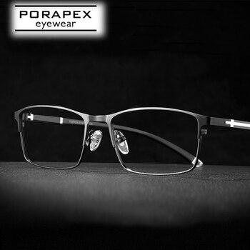 High Quality Mens Eyeglass Frame Optical Prescription Glasses Frame For Men Ultralight Eyeglasses Spectacle armação de oculos