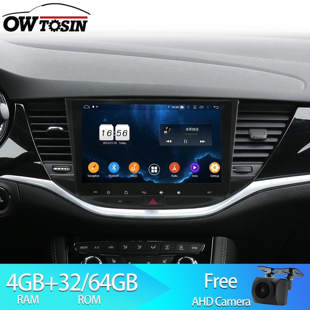 Owtosin Car Radio Multimedia Video Player Navigation Gps Android 9 0 For Opel Astra K 2015 2016 2017 Car 4gb Ram 32gb Rom Car Multimedia Player Aliexpress
