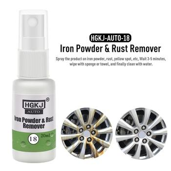 Powerful Car Rust remover Rust Cleaner Spray Derusting Spray Car Maintenance Cleaning Tools Auto Anti-rust Lubricant Household 1