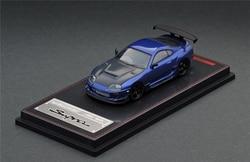Ignition Model IG 1:64 Toyota Supra (JZA80) RZ Metallic Blue Diecast Model Car