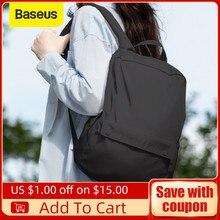 Laptop-Backpacks Light-Weight Baseus Waterproof for Travel-Bag 20L School-Bags Leisure