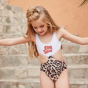 Mädchen Sommer Strand Kinder Badeanzug Bademode 1