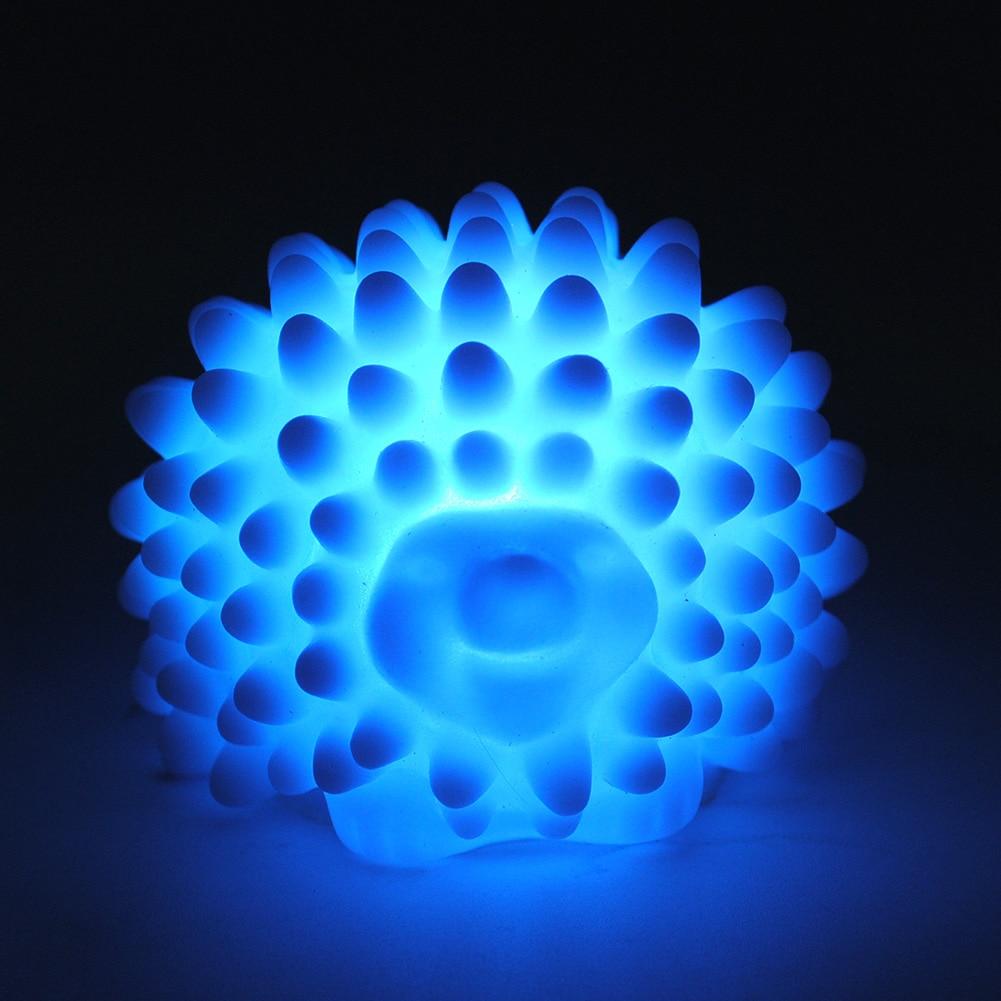 New LED Hedgehog Night Light Lamp Desk Lamp Changeable-color Christmas Present Baby Light Home LED Bedside Light Lamp