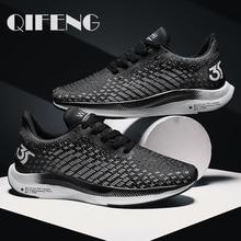 2020 الصيف بيع الرجال شبكة أحذية الانزلاق على أحذية رياضية حذاء كاجوال وسادة هوائية الذكور الأحذية أحذية رياضية في الهواء الطلق الركض المدربين 46