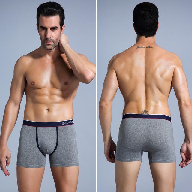 Boxer Shorts Men Underwear Male Mens Underwear Boxers Homme Boxer Men Cotton Boxershorts Cueca Underpants Man Kilot Gift