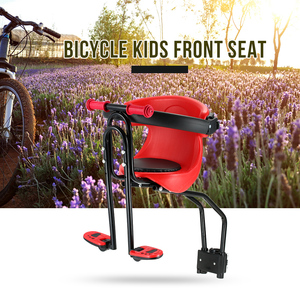 Детское сиденье для велосипеда, детское сиденье, переднее сиденье, подушка с педалями для ног