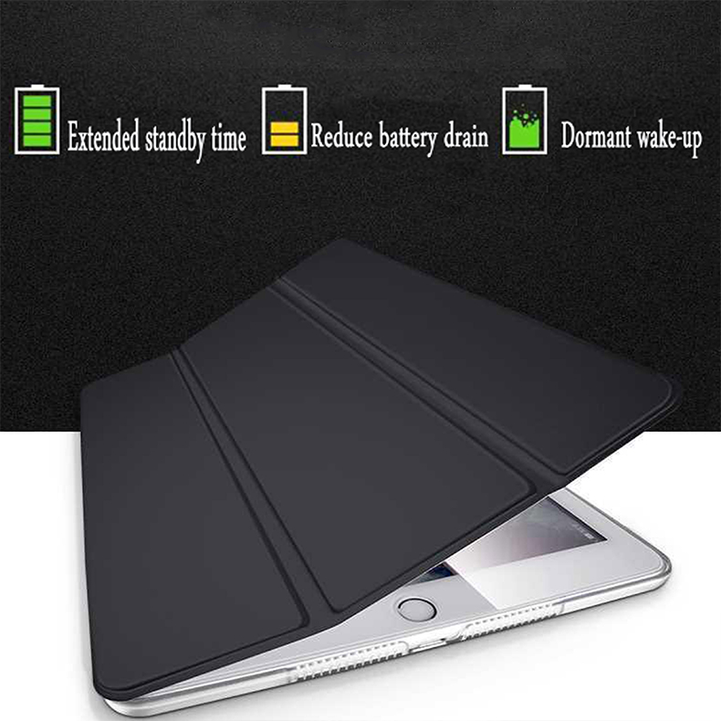 A2198 Smart A2232 A2200 7th-Generation Auto-Wake-Cover Trifold for Tablet-Case iPad Apple