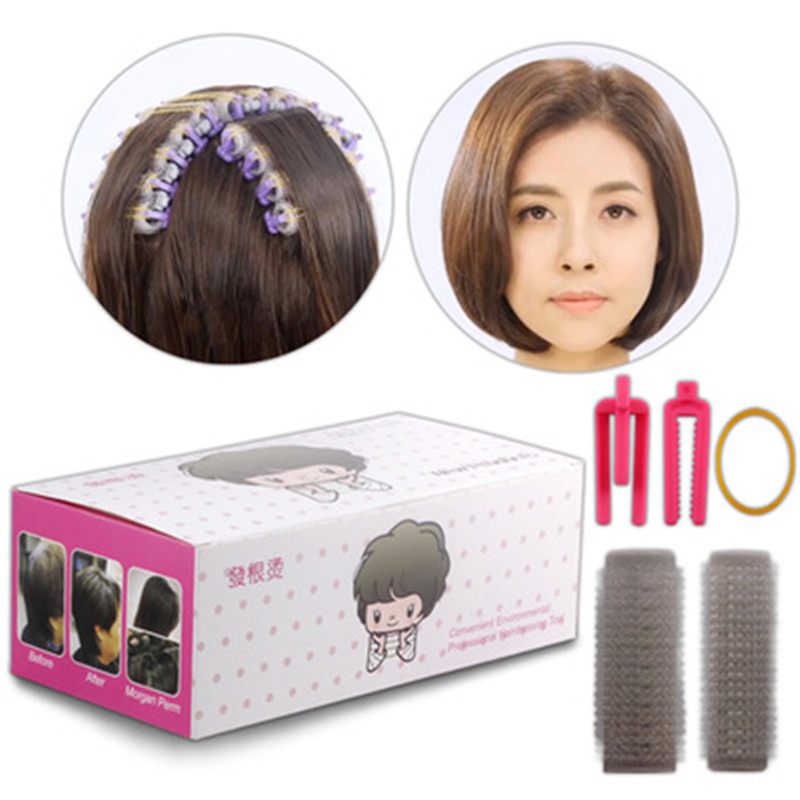24pcs/box Curler-clips-Tool Cold Perm Rods Magic Air Bang Styling Bars Hair Rollers Morgan Perm Curling Curler Clips Tool