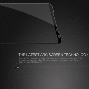 Image 4 - For Asus ROG Phone 2 Tempered Glass NILLKIN Full Coverage Anti Explosion Tempered Glass Screen Protector CP+ pro