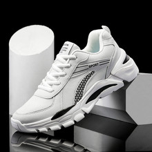 New Mesh Men Sneakers Lightweight Breathable Mens Footwear Comfortable Casual Lace-up Shoes Man Trainers Running Big Size 47