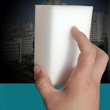 50 pçs por atacado branco esponja mágica borracha melamina cleaner multi-funcional limpeza 100x60x20mm lidar com escova esponja para cozinha
