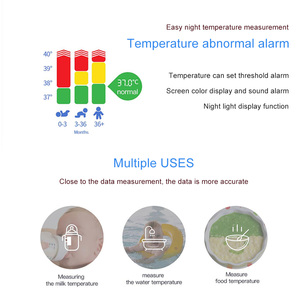 Image 5 - Medical Infrared Thermometer Forehead Temperature Gun Non contact Baby Adult Temperature Instrument Handheld Digital Thermometer