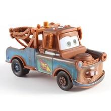 Carrinhos disney pixar carros 3, carrinhos mcqueen, mater, brinquedo de metal 1:55, presentes de natal para crianças aniversário