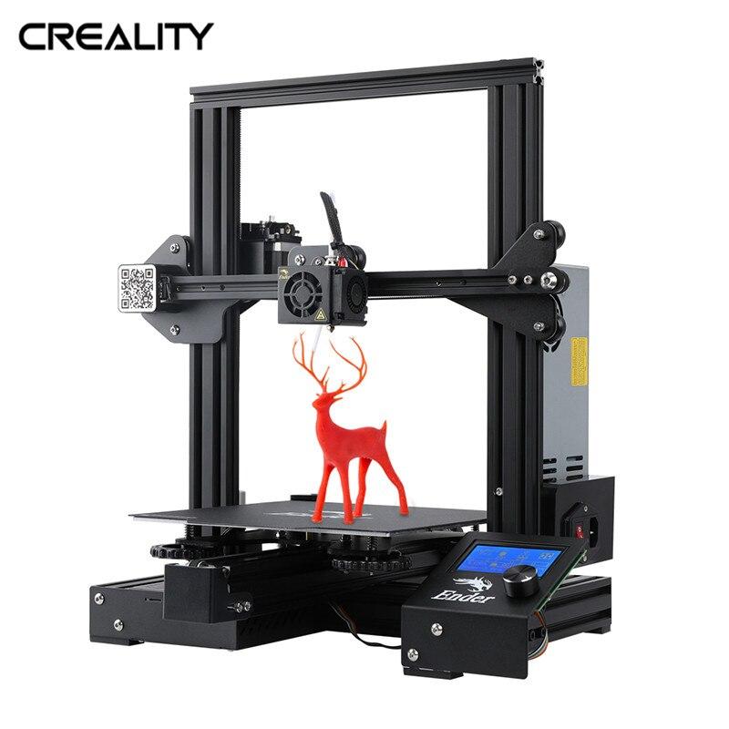 CREALITY 3D nouvelle marque Ender-3 Pro imprimante 3D ouvert construire grande taille d'impression 3D Drucker Impresora imprimante Kit reprendre l'impression