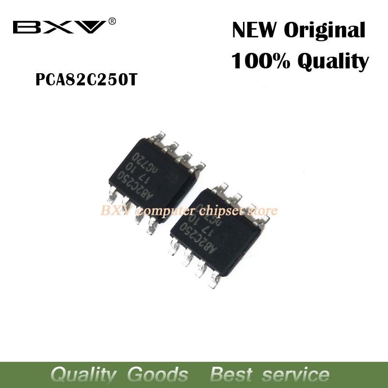 5pcs/lot PCA82C250T PCA82C250 A82C250 Sop-8 Chipset New Original