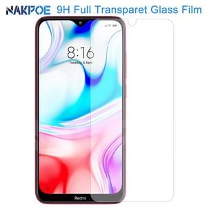 Image 1 - 9H Tempered Glass For Xiaomi Redmi Note 8 7 6 Pro Screen Protector Protective Glass Redmi 8 8A 7 7A 6 6A Go K20 Pro Glass Film