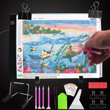 5D DIY Diamond Painting A5/A4 Led Light Pad Board Box for Painting Drawing Diamond Embroidery