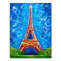 Алмазная живопись 5D, алмазы, «сделай сам», «Парижская башня», вышивка крестиком, полная квадратная круглая вышивка, красочная ручная работа,...
