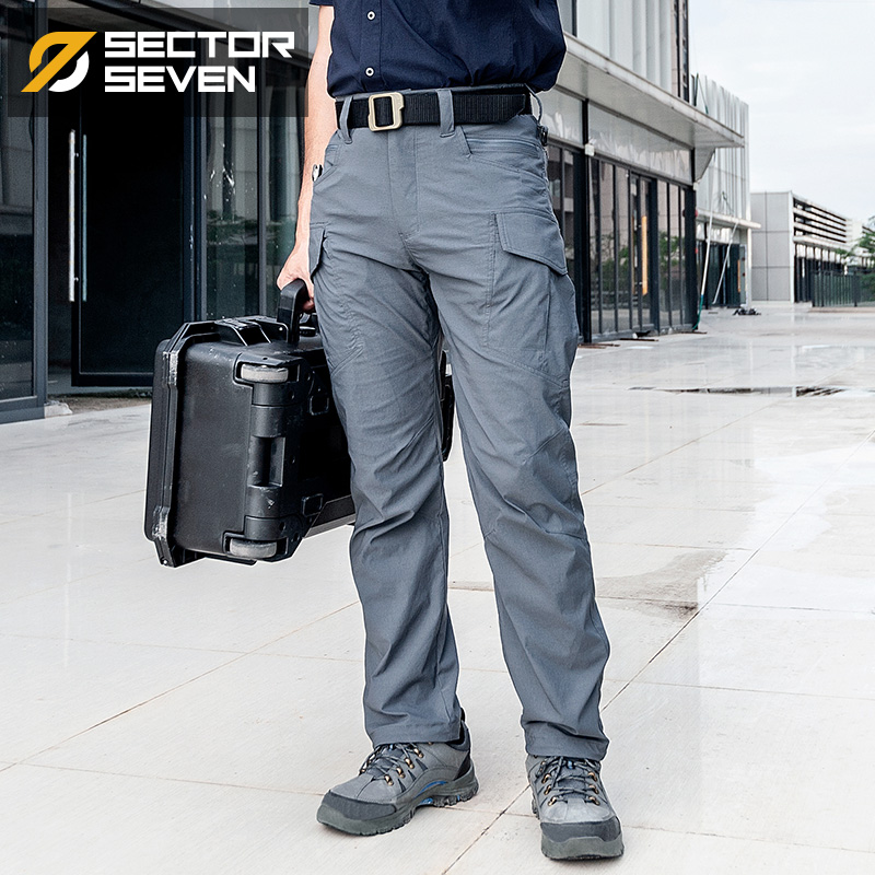 Sector Seven GT2 Waterproof Tactical Men's Pants Cargo Casual Pants Combat SWAT Army Active Military Work Male Trousers Mens