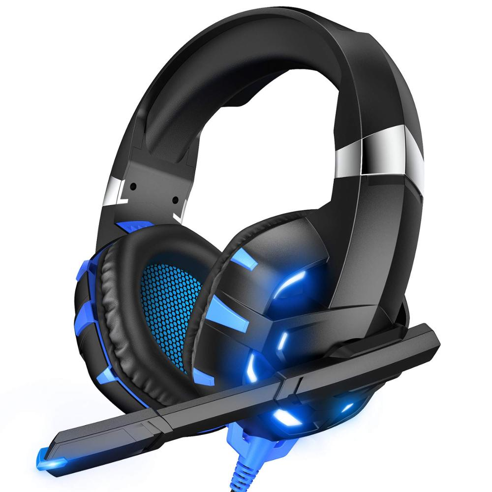 Factory Offer Price Only Today - 7.1 High Quality Gaming Headset PS4 Casque PC Stereo Headphones With Mic LED For Laptop Box One